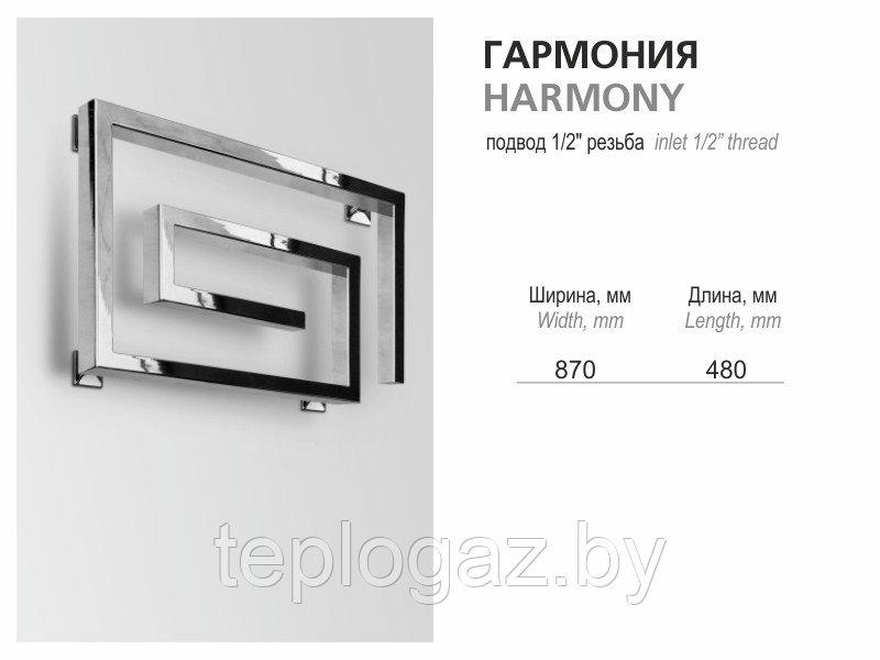 Полотенцесушитель Гармония 870х480