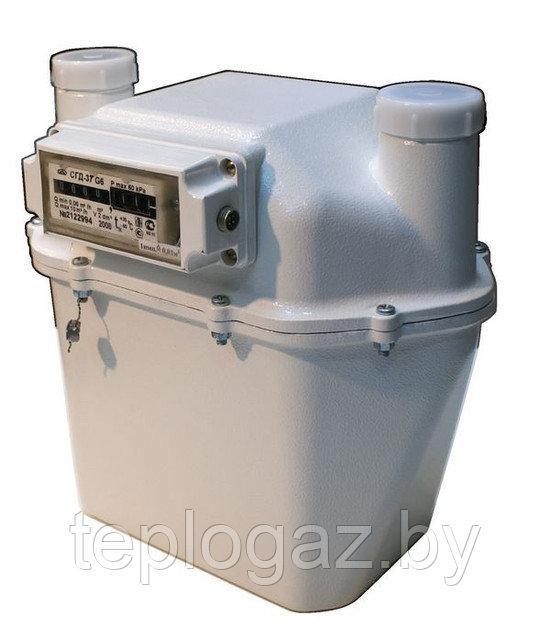 Счетчик газа левый с и.в./СГД-3Т-1И-1-G4 (200мм)/8181000000022