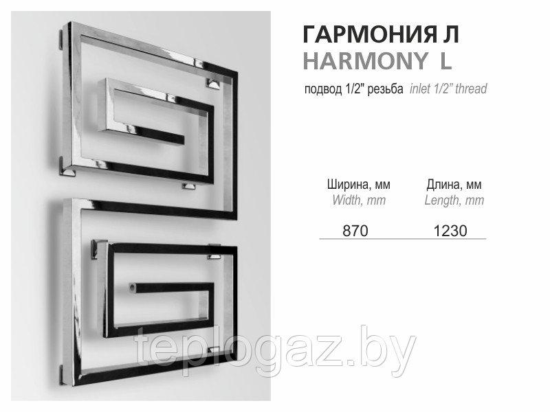 Полотенцесушитель Гармония L 870x1230
