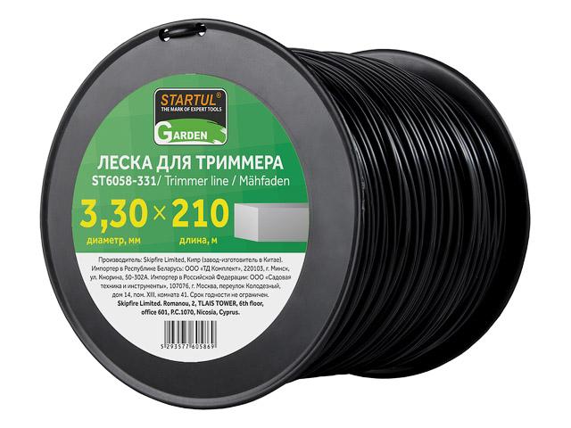 Леска 3.3 мм квадр. сечен.  ST6058-33