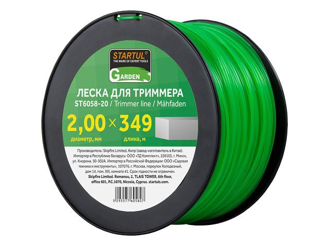 Леска д/триммера ф2.0  ST6058-20
