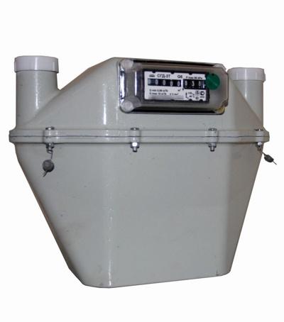 Счетчик газа СГД-3Т-1-G6 левый (250 мм)