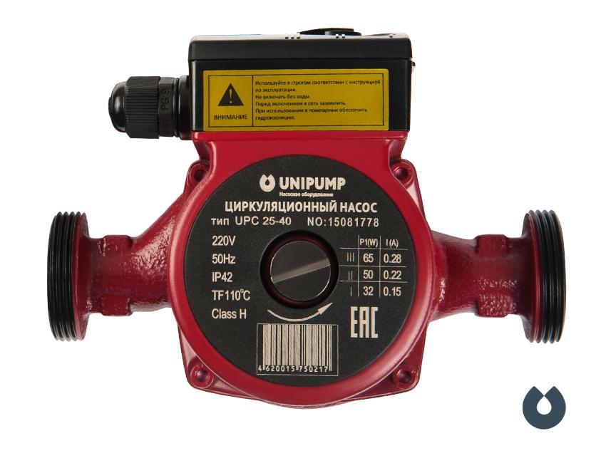 Насос цирк. UPC 25-60/180  Unipump