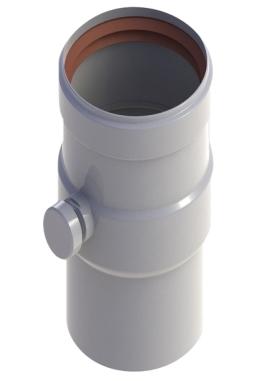 Конденсатоотвод ф80 (белый)