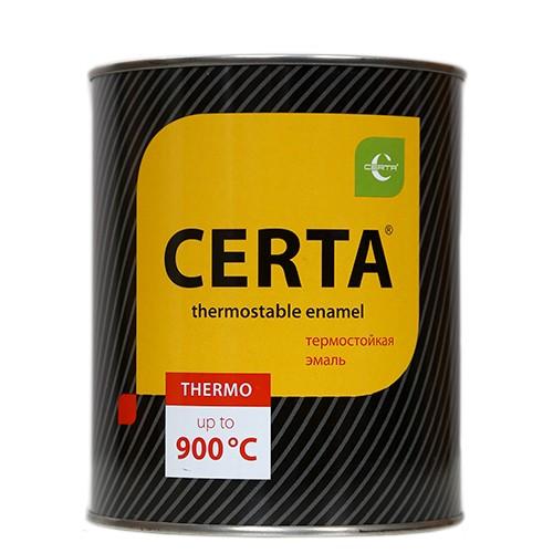 """""""CERTA"""" Эмаль термостойкая черная"""