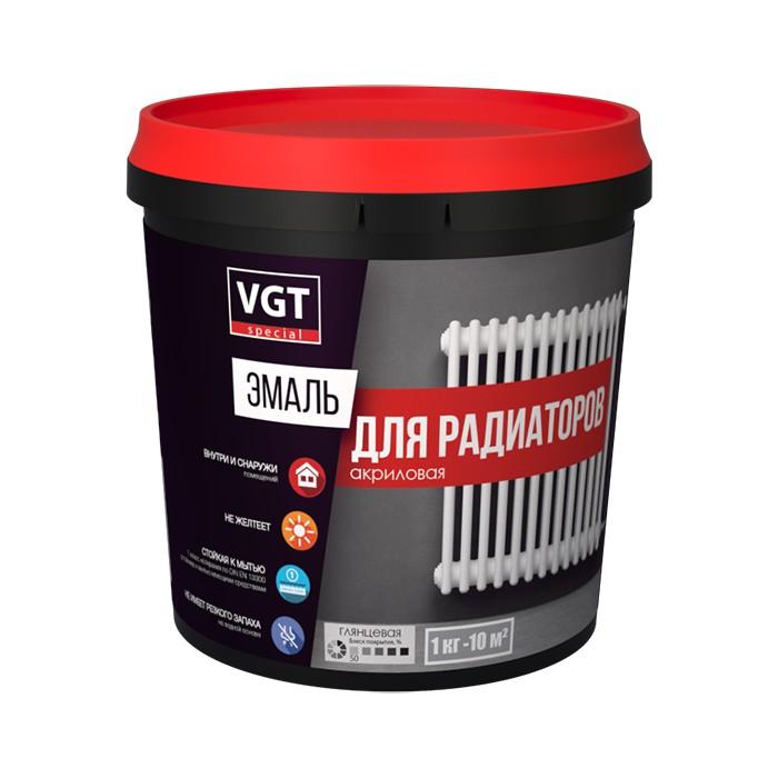 Эмаль ВД-АК-1179 д/радиат. 1 кг