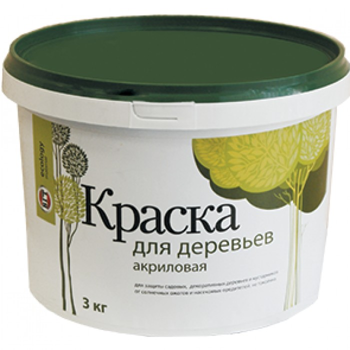 Краска ВД-АК-1180 д/деревьев 3 кг