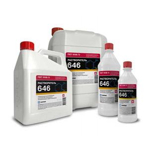 Растворитель 646 0.5 литра