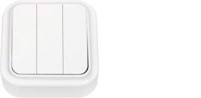 Выключатель А05 6-137  Белый