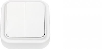 Выключатель А5 6-134  Белый