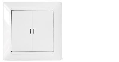 Выключатель С5 10-815  Белый
