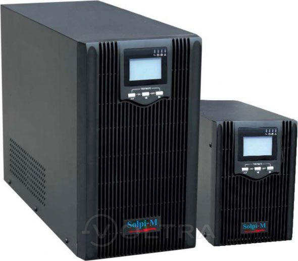 """ИБП """"Solpi-M"""" EA600 LCDH 500 VA"""
