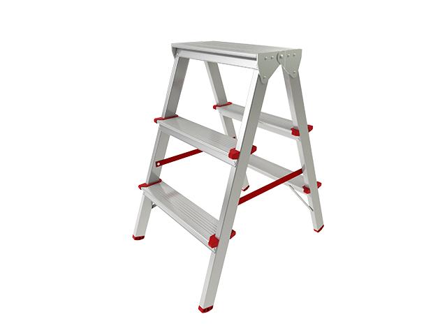 Лестница- стремянка двухсторонняя 66 см 3 ступ/ST9941-03