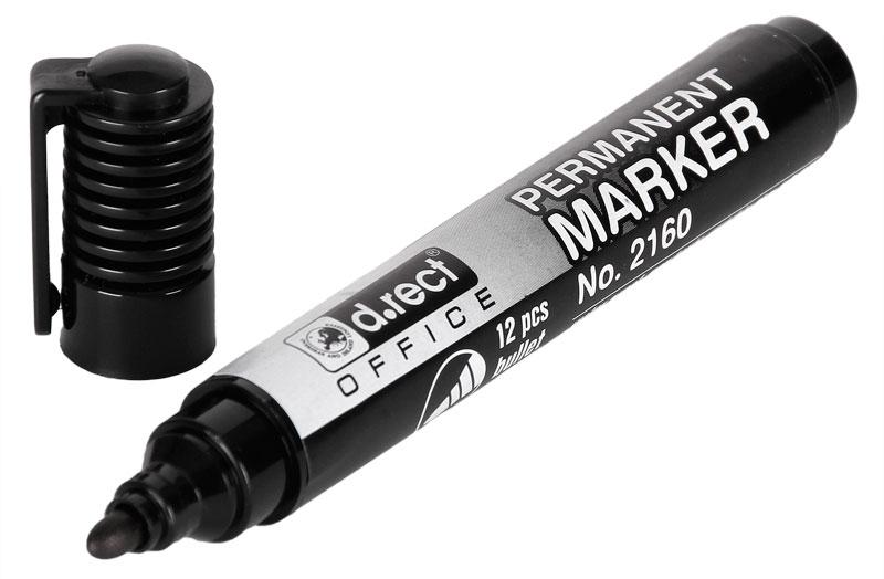 Маркер перманентный черный/ST4350-01