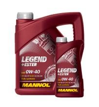 Масло Mannol Legend+Ester SAE 0w40 4л