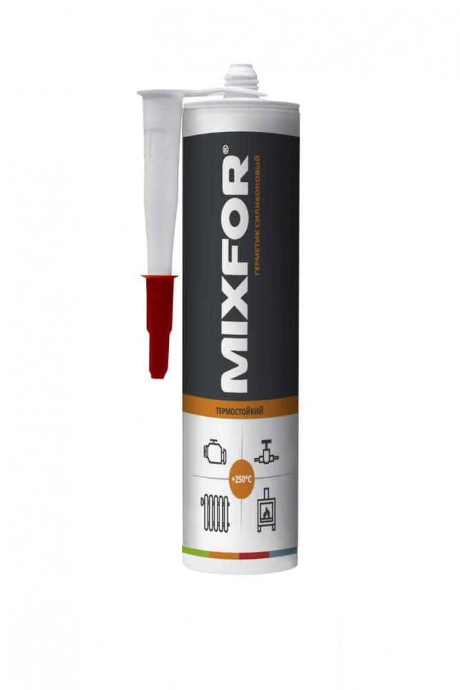 Герметик силиконовый термостойкий +250