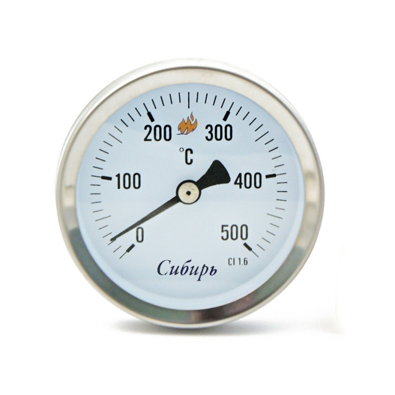 Термометр бимет.(0-500 С) Сибирь