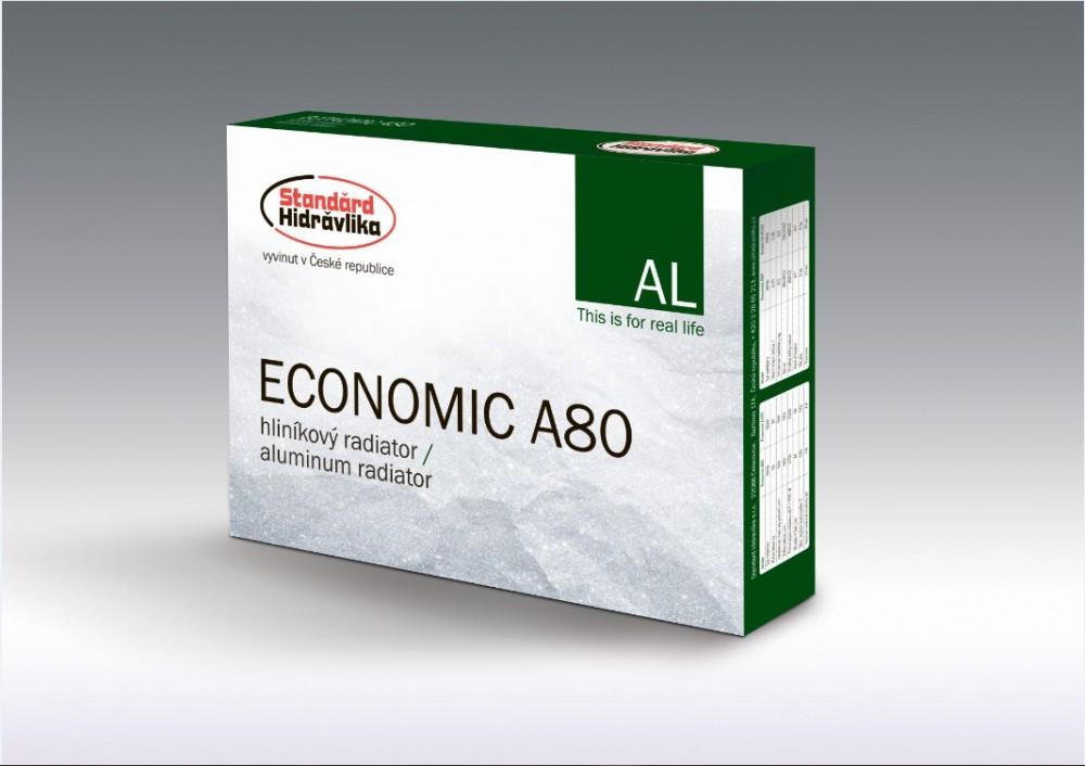Рад. аллюминевый  Economic A80