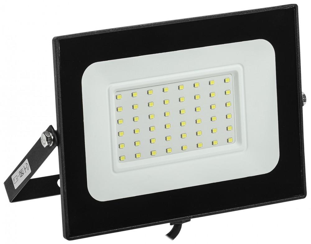 Прожектор СДО 06-50 черный IP65  6500 K IEK