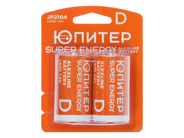 Батарейка LR20 1.5V Юпитер/JP2104