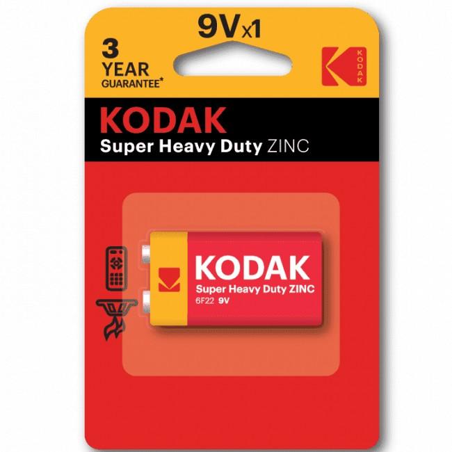 Батарейка Kodak (солевой) 6F22