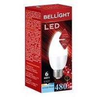 Лампа светодид. BELLIGHT LED C37 6w e14 4000 K