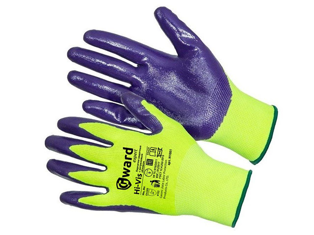 Перчатки нейлон нитрил/N1001