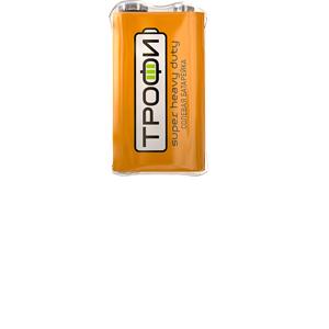 Батарейка Трофи 6F22-1S