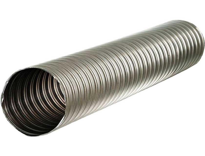 Воздуховод гибкий 130 (аллюминий) 3 метра