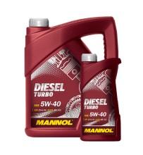 Масло Mannol Diesel turbo 5W40 5 литров