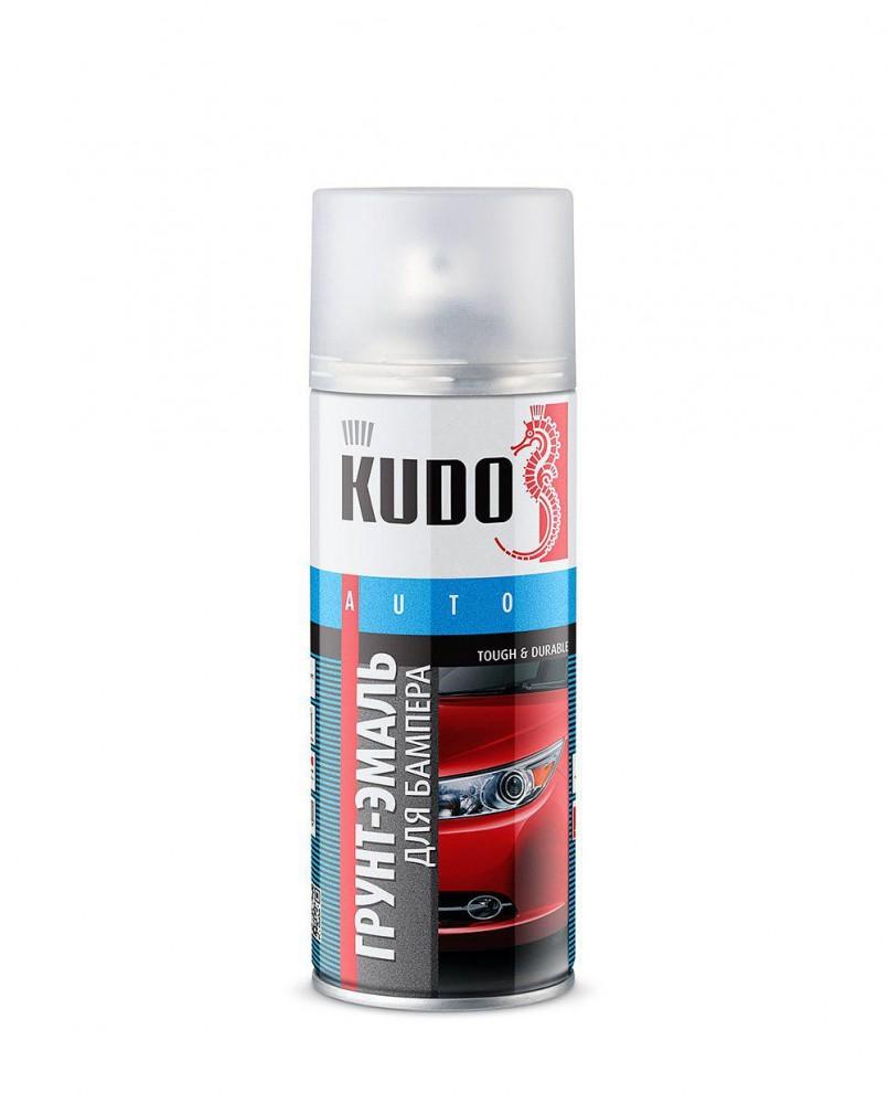 Эмаль для бампера (черная), 520 мл/KU-6202
