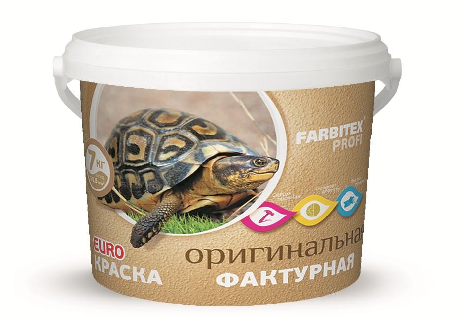 Краска акриловая фактурная Farbitex profi 7 кг/4300008183