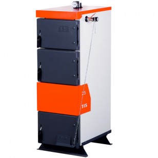 TIS Pro 30 кВт  Твердотопливный котел