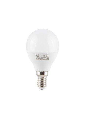 Лампа светодиодная G45 шар 7.5 вт,4000 К, Е14 Юпитер/JP5082-12