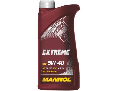 Масло Mannol Extreme 5W40 1 литр